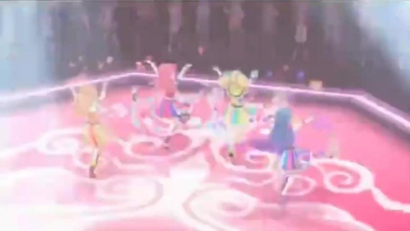 Aikatsu 3! Otoshiro Seira, Saegusa Kii, Kazesawa Sora, Himesato Maria - Happy Crescendo [Episode 172]