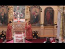 Богослужение с участием Преосвященного Кирилла