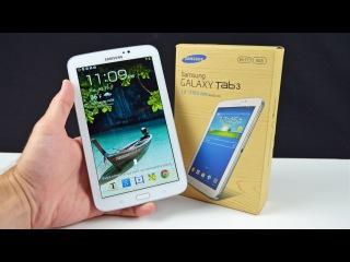 Обзор, Распаковка, Где Лучше Купить Планшет Samsung Galaxy Tab 3 7.0 2015. (Лучший Видео Обзор)