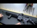 AR-15: Spikes Tactical M4LE w/ 12 BAR Rail 5.56x45 .223 (HD)