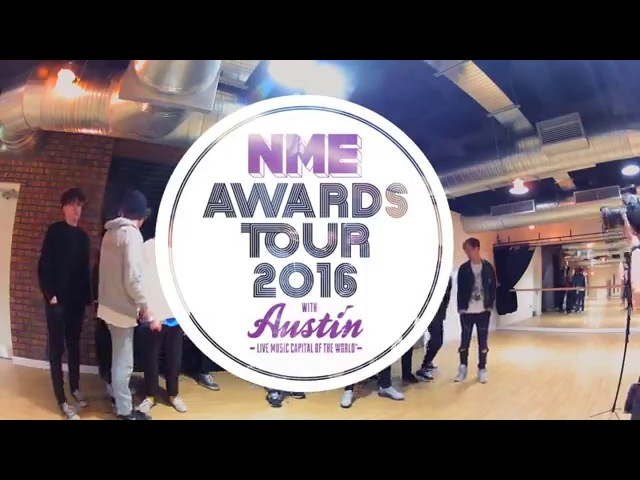 Behind The Photoshoot - NME Awards Tour 2016 - Backstage, Cardiff (290116)