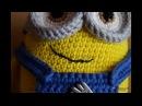 Миньон Боб вязаный крючком Minion Bob crochet
