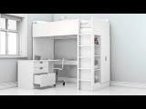 Новая кровать чердак СТУВА – новые возможности