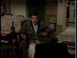 Мистер бин Mr Bean смотрит Российское ТВ