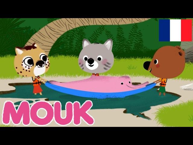 MOUK - Le Dauphin rose (Venezuela - Amazonie) HD   Découvre le monde avec Mouk