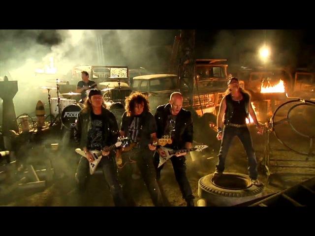 ACCEPT -Teutonic Terror (HD) (OFFICIAL MUSIC VIDEO)