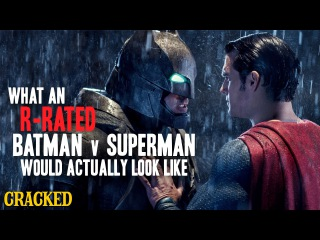 Zach Snyder's R-Rated Batman V Superman Looks Terrible