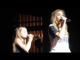 Lennon & Maisy Stella singing