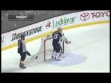 Suter's Crazy Hockey Goal (Nashville Predators vs Anaheim Ducks 3/24/11)