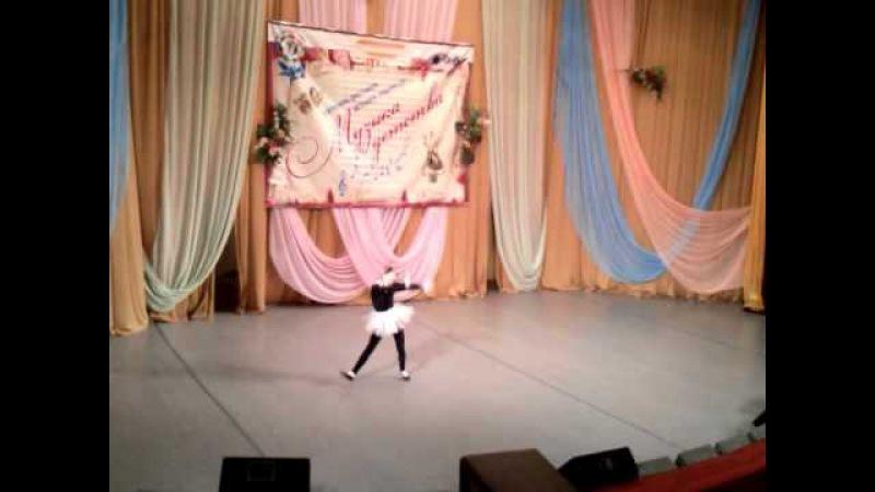 Михайличенко Елена, танец «Кошка», обр студия «Росинка», Золотая горошина, городской этап
