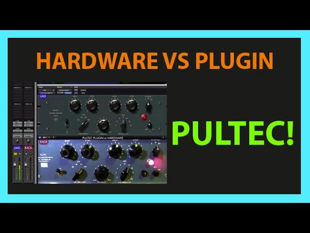 (Mix) UAD PULTEC EQP-1A vs EQP-1s Hardware