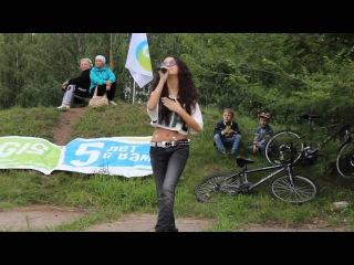 Лия Шамсина на праздновании 5-летия 2Gis