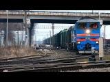 Движение поездов по станции Старая Русса