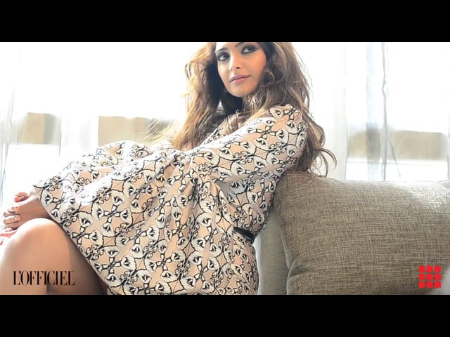 Sonam Kapoor-L'Officiel India video by Rishab Dahiya Mediaworks