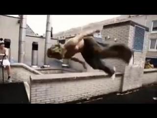 Нереально крутой паркур от лучших в мире мастеров  Юмор Приколы Смешное видео и Анекдоты на