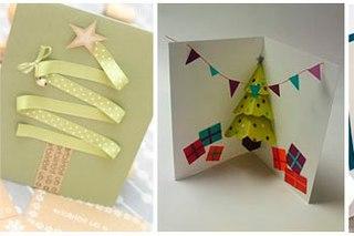 Новогодние открытки своими руками 2015 фото
