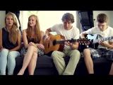 Wake Me Up -- Avicii ft. Aloe Blacc (Cover by Carlijn Merle) ft. Kjelt and Tom