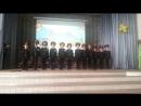 1 А класс Первые выступления на сцене День Учителя октябрь 2015