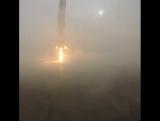 Неудачная посадка Falcon 9 на баржу в океане 17 (18) января 2016