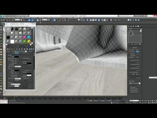 3Ds Max для начинающих. Урок 18. Симуляция ткани (Модификатор Cloth)