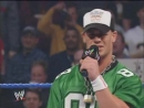 WWE Smackdown 2004-01-22 - Brock Lesnar, Matt Morgan Rhyno vs. Chris Benoit John Cena (3 on 2 Handicap Match)
