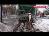 В Москве с рельсов сошли два вагона товарного поезда