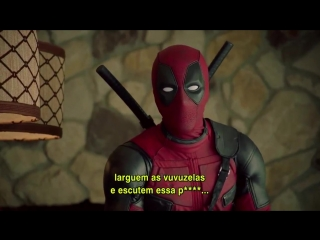 Deadpool promo clip - comic con experience (2016) ryan reynolds superhero movie hd
