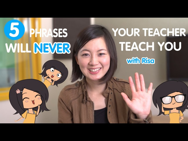 Learn the 5 Japanese Phrases your teacher will never tell you!
