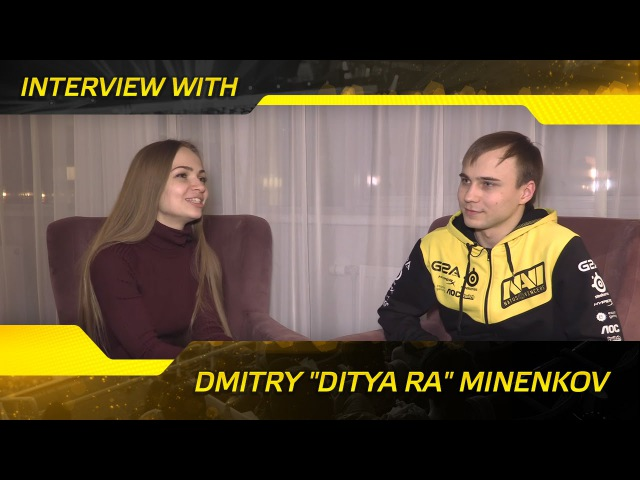 Interview with Dmitry Ditya Ra Minenkov @ SL i-League LAN (ENG SUBS)