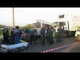 Автобус, перевозивший детей, попал в ДТП в Нижегородской области, три человека погибли - Первый канал