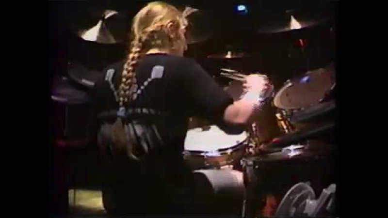 Death Sean Reinert Drum Cam - Lack of Comprehension 10.26.91