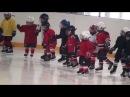 Детский хоккей г.Видное ЛД Арктика 20-я тренировка