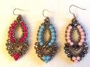 Video Tutorial Beaded Earrings Esmeralda