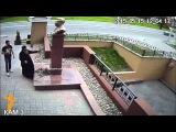 Памятник Сталину в Липецке. Видео с веб-камеры