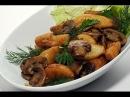 Картошка с мясом и грибами по-мужски.