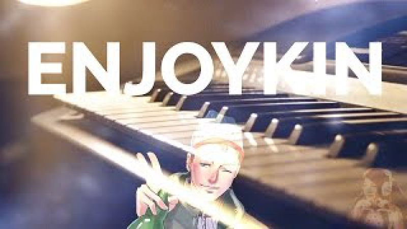 Enjoykin — Ламповая Няша Piano Cover Кавер Обучение Пианино