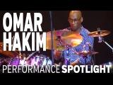 Omar Hakim: Montreal Drumfest 2013