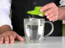 Силиконовая крышка для заваривания и отжима чайных пакетиков Tea Bag Buddy