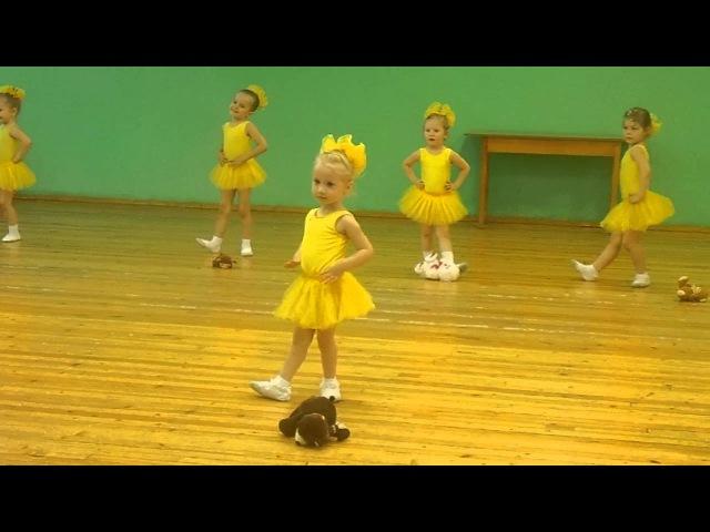 Танец Модные игрушки. (София Тихомирова-3,9 года)