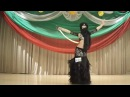 Дарья Щербань - Восточный таней танец с саблей