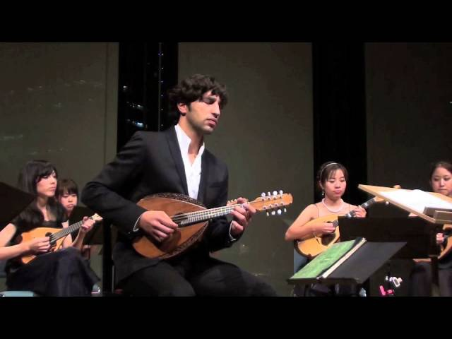 Avi Avital plays Vivaldi Mandolin Concerto in C Major | The 8th Osaka International Mandolin Fes..