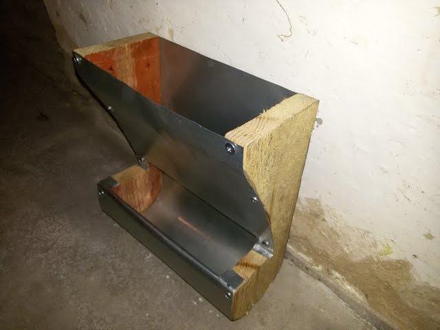 DIY - Бункерная кормушка для кроликов своими руками. За 50 центов. Кроликоферма.