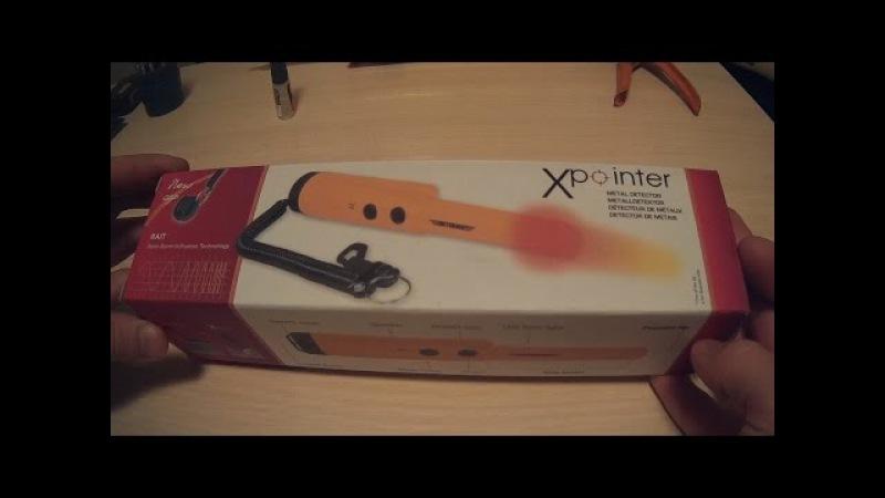 Deteknix XPointer разборка подводный поиск пинпоинтером смотреть онлайн без регистрации