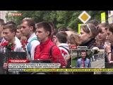 У посольства Украины в Москве проходит акция в память о погибших журналистах