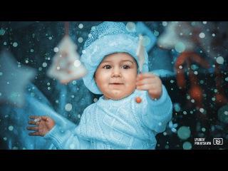 Создание новогодней сказки в фотошопе