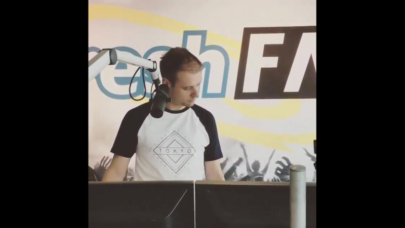 "Armin van Buuren on Instagram : ""I love this video because he's funny 😌 Today at @radiofresh"