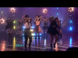 Nicole Scherzinger feat. 50 Cent - Right there (live at Ellen)