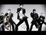 【MMD刀剣乱舞】5太刀でGENTLEMAN【HD720p】