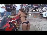 авто приколы / девушки за рулем / Auto fun/ Девушки на мотоциклах/Смешные мото приколы с девушками
