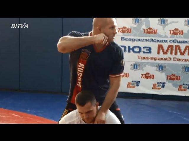 Фёдор Емельяненко показал как правильно делать удушение